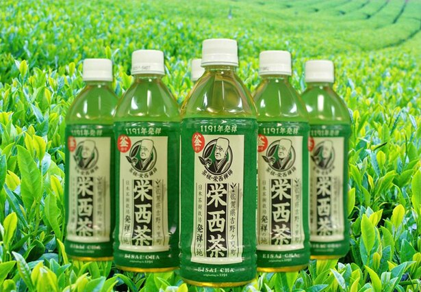 道の駅吉野ヶ里などで購入できる栄西茶