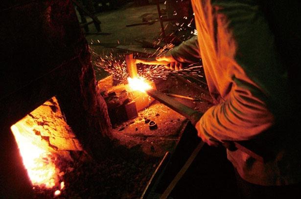 堺の包丁作りを体験できる貴重な機会