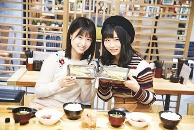 天ぷらと一緒に、ハイチーズ