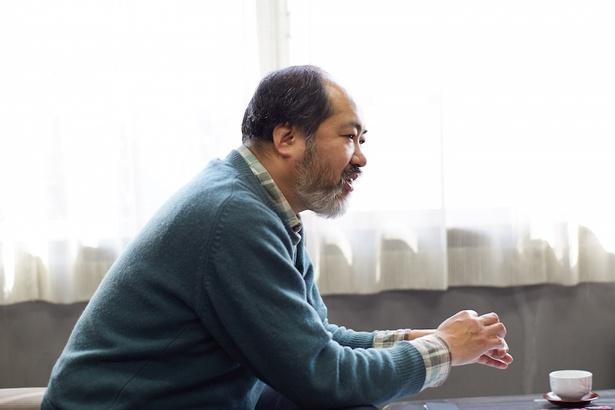 「クマノザクラ」の保全活動に関して熱心に訴える勝木氏