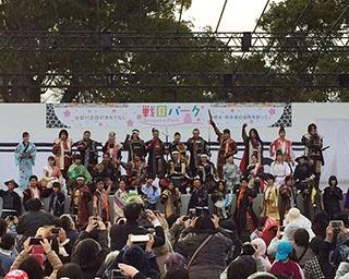 """全国の""""おもてなし武将隊""""が熊本城に集まるイベント"""