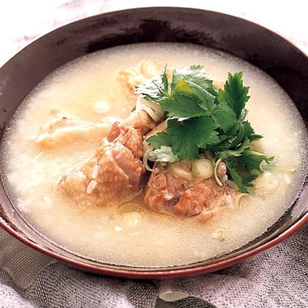 「サムゲタン風スープ」