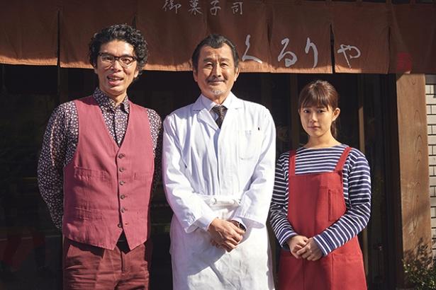 【写真を見る】今作も吉田演じるバツ3独身の恋多き和菓子職人・久留里卓三のはかない恋を描く