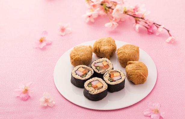 「おたる助六寿司」盛り付け例
