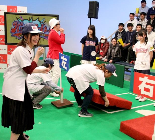 番組のセットチェンジでAD・佐藤栞は何をしていいかわからずオロオロ