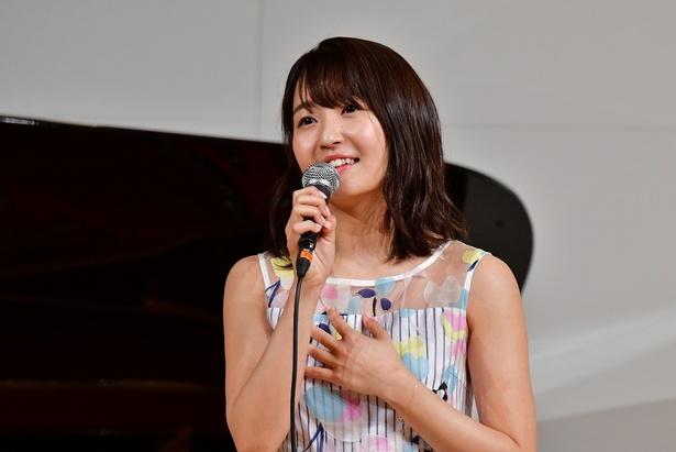 ミュージカル女優を志す惣田紗莉渚も挑戦