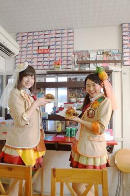 「ハンバーガー完成ー!」