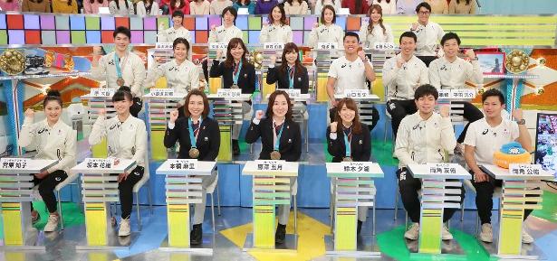 「中居正広のスポーツ!号外スクープ狙います!」に平昌五輪で大活躍した日本代表選手が大集合!