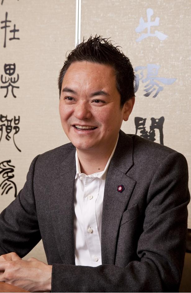 「福満園」代表取締役社長・山田聖一郎氏