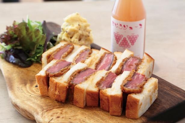 ローストビーフカツサンドイッチ 1,680円(前日までに要予約)/Nick 中山手本店