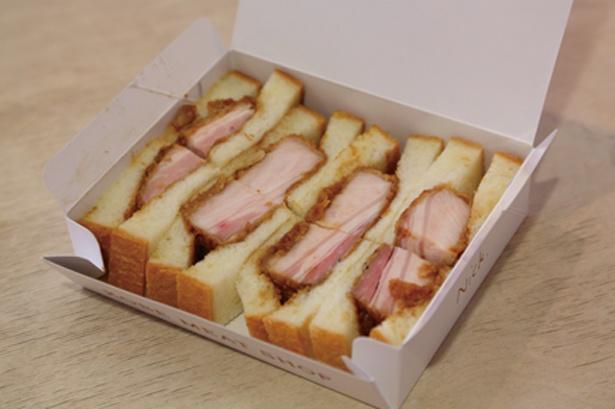 ローストポークカツサンドイッチ1,296円(前日までに要予約)/Nick 中山手本店