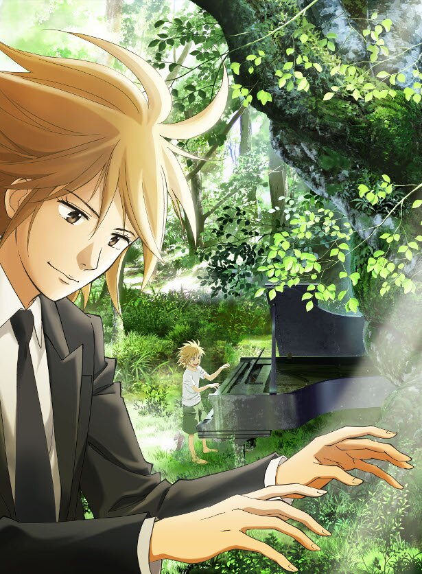 世界的ピアニストも参加!斉藤壮馬・諏訪部順一が主演のTVアニメ「ピアノの森」最新情報が解禁!