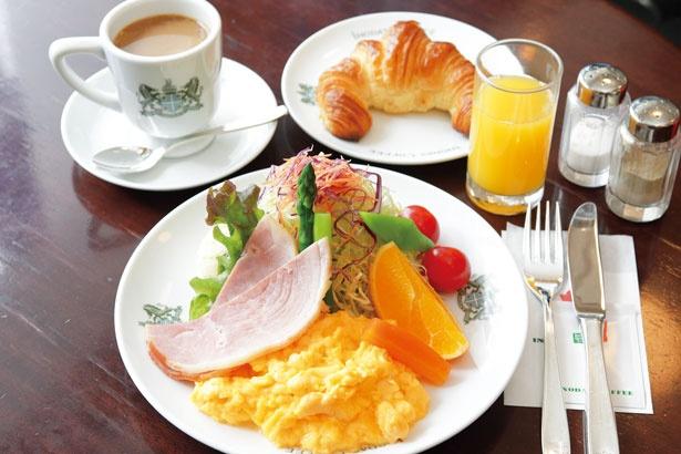 「京の朝食」(1380円 ※7:00~11:00LO)/イノダコーヒ本店