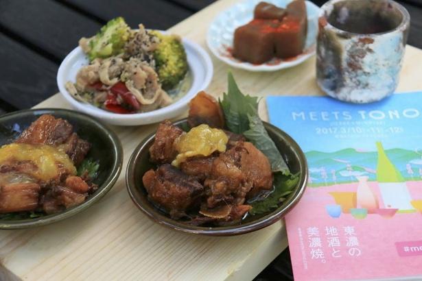 東濃エリアには、おいしい食材がいっぱい! 創作メニューにも注目だ