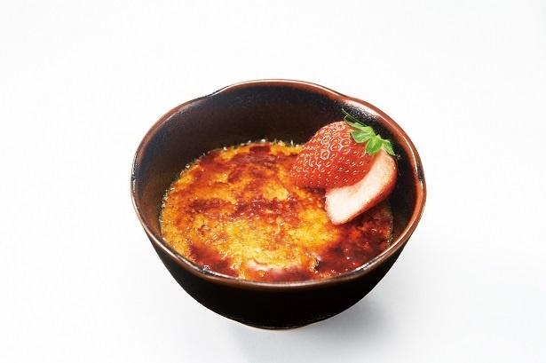 「苺のクリームキャラメリゼ」(430円)は果肉入りのイチゴクリームが味わえるキャラメリゼ