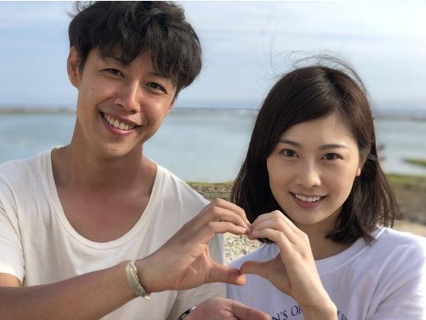 今回のドラマが初共演となるさいねい龍二と和田安佳莉