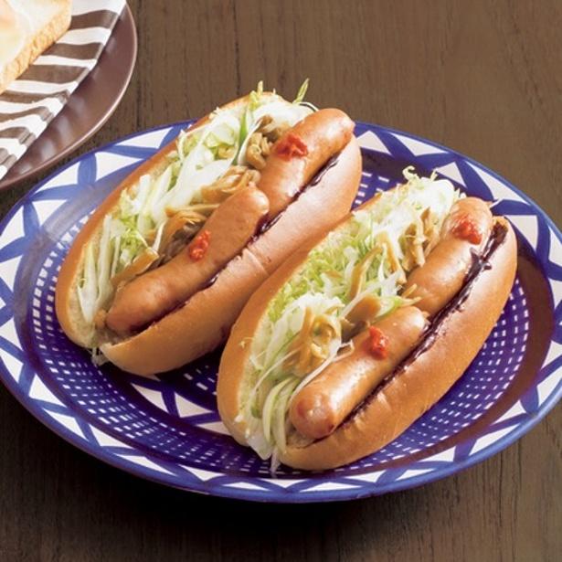 行楽シーズンのお弁当にも! 「中華風ドッグ」は甘辛みそ味がクセになるおいしさ