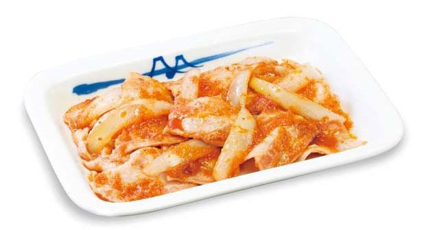ショウガの香りがそそる「豚バラ生姜焼定食(単品)」(390円)/松屋 梅田角田町店