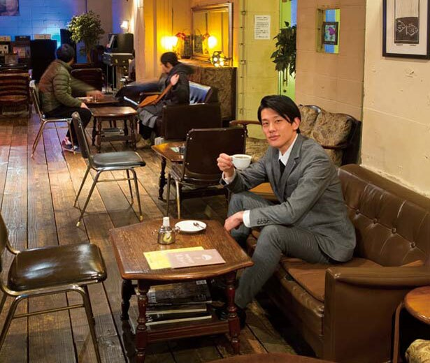 ゆったりしたソファでまったり/ジャズ喫茶 jamjam