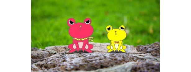 【写真を見る】ケッケロとケーは、他の998カエルを探す旅に出る