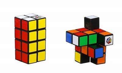 【写真】色だけでなく形もバラバラに! 「2×2×4 ルービックタワー」