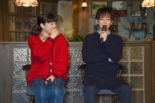 """【写真を見る】佐藤健に「大スターになる」と""""予言""""された永野芽郁。思わずこの笑顔に"""