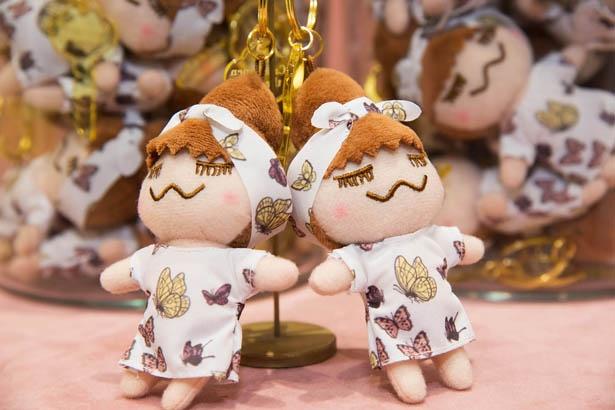 【写真を見る】人気殺到!横浜限定デザインのキーホルダー「Butterfly RINKACHAN」(税抜1,200円)