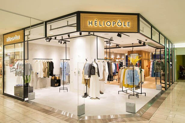 「HELIOPOLE」(2F)では英国マッキントッシュ社のデイリーウェアブランド「Traditional weather wear(トラディショナルウェザーウェア)」のポップアップを開催中