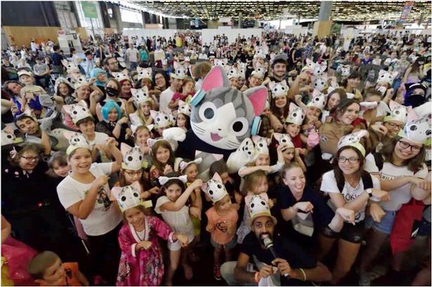 フランスで開催された「Japan Expo 2017」に、チーが公式ゲストとして初登場