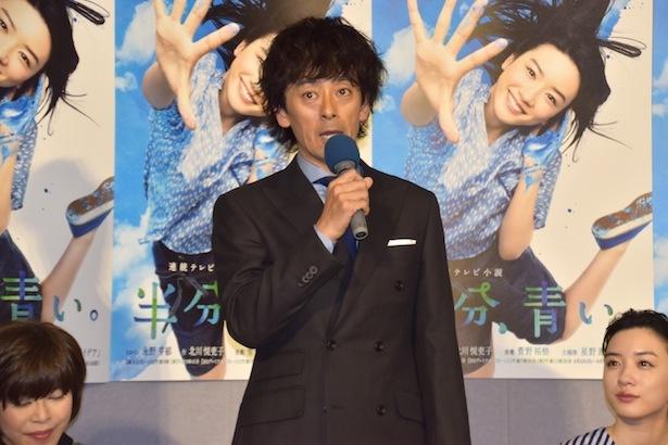 滝藤賢一は鈴愛の父・宇太郎を演じる
