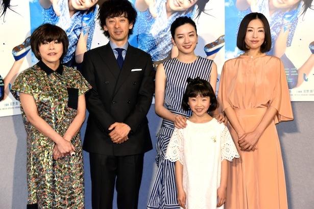 連続テレビ小説「半分、青い。」の第1週完成試写会が行われた