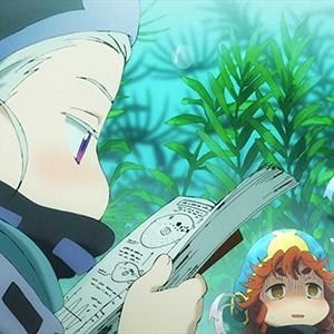 「ハクメイとミコチ」第9話の先行カットが到着。動く潜水艇で水草地帯を抜けると…
