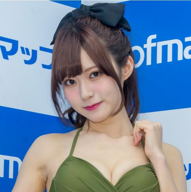 セカンドDVD「スレンダーラブ」発売イベントに登壇した田中めい