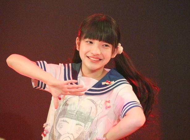 虹コンの最年少・あいりちゃん(蛭田愛梨)が14歳の誕生日を迎え、生誕イベントを開催