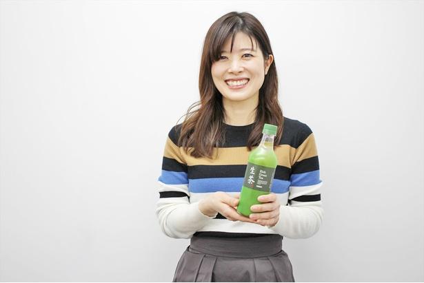 キリンビバレッジ商品開発研究所の塚田かおりさん