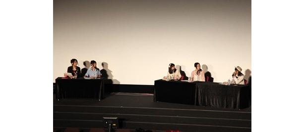 TVアニメやライブイベントなどについてのトークが行われた