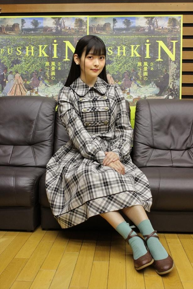 上坂すみれはプーシキン美術館展の公式サポーターを務める