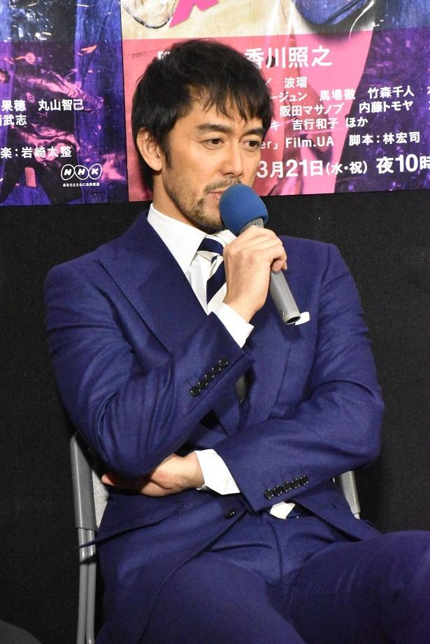 香川いわく、阿部は「コメディーセンスがにじみ出ている」