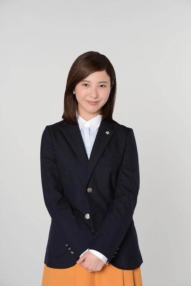 「正義のセ」で主演を務める吉高由里子