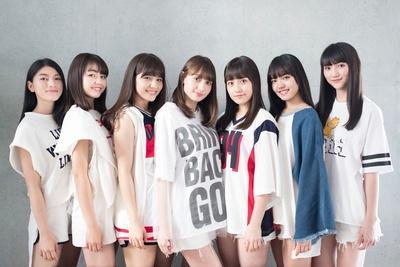 Chuning Candyのメンバー。左より琴音、千夏、ソフィー、LILI、ゆうり、優美香、愛子