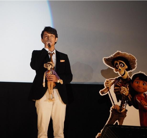 オーディションでへクター役に選ばれた藤木直人