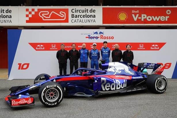今季の活躍が期待されるRed Bull Toro Rosso Honda(レッドブル・トロロッソ・ホンダ)