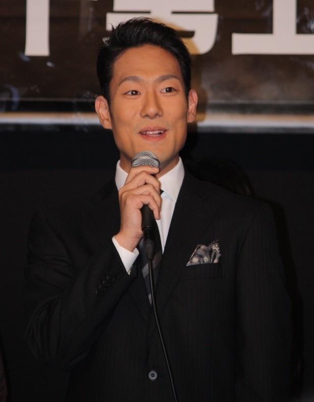 今泉と小林が楽屋に入ってくるやいなや、「わぁ〜ゆいちゃんずだ〜」と興奮気味だったという歌舞伎役者、六代目中村勘九郎