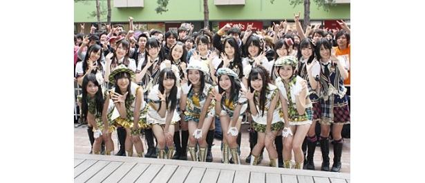 名古屋を飛び出して、東京でミニライブ&トークショーを行ったSKE48