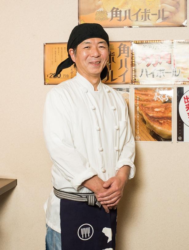 白ラーメンを編み出したのは、中華歴30年の代表・新井明雄さん