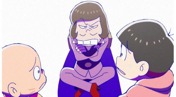 「おそ松さん 第2期」第23話の先行カットが到着。謎に包まれていたダヨーンの生活が明らかに!?