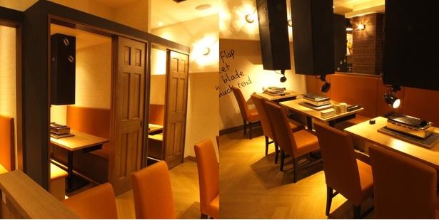 牛吉(Gyu-Kichi) 肉屋の台所 目黒店の店内は、木目調で落ち着いた雰囲気