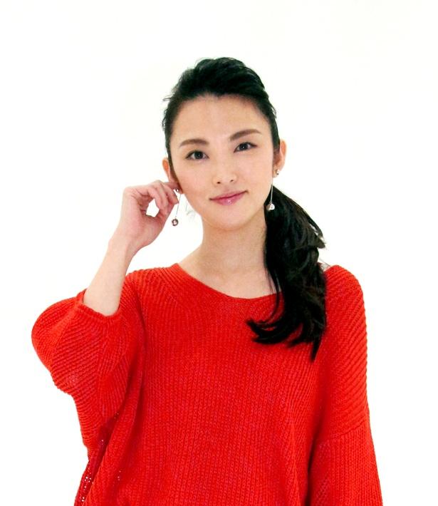 映画「おもてなし」でダブル主演を務めた田中麗奈