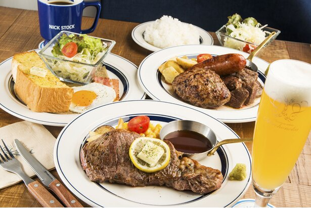 SNS映えするジューシーな肉料理が自慢の肉カフェ「NICK STOCK」が横浜に進出!