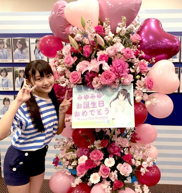 【写真を見る】15歳の誕生日を迎えた門脇実優菜の生誕祭も行われた